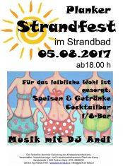 Strandfest-Plakat-2017
